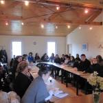 Публиката по време на срещата