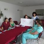 Специалистите от Центъра за ранна интервенция на уврежданията в Бургас по време на обучението със Звезделина Атанасова, Карин дом