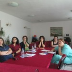 Специалистите от Центъра за ранна интервенция на уврежданията в Бургас по време на обучението с обучители от Карин дом