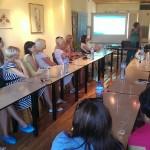 Логопеди от Литва, Латвия, Естория, Румъния и България в конферентната зала на Карин дом