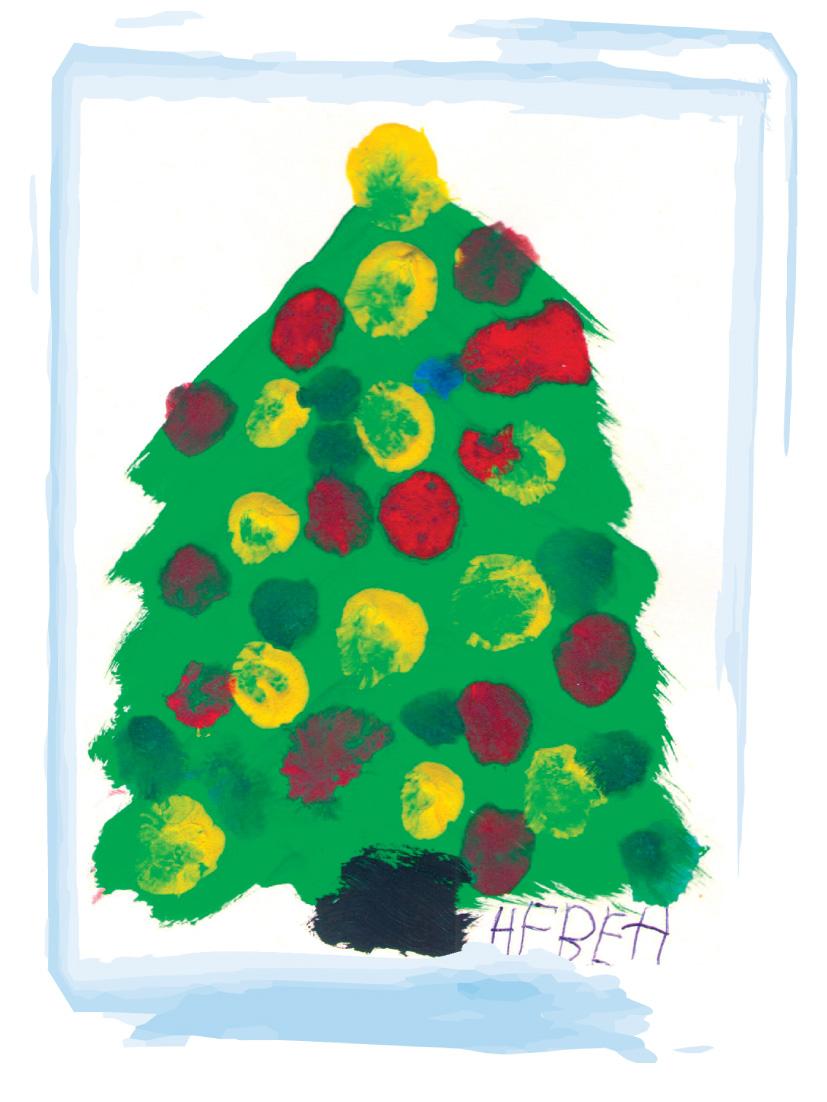 Коледна картичка № 1