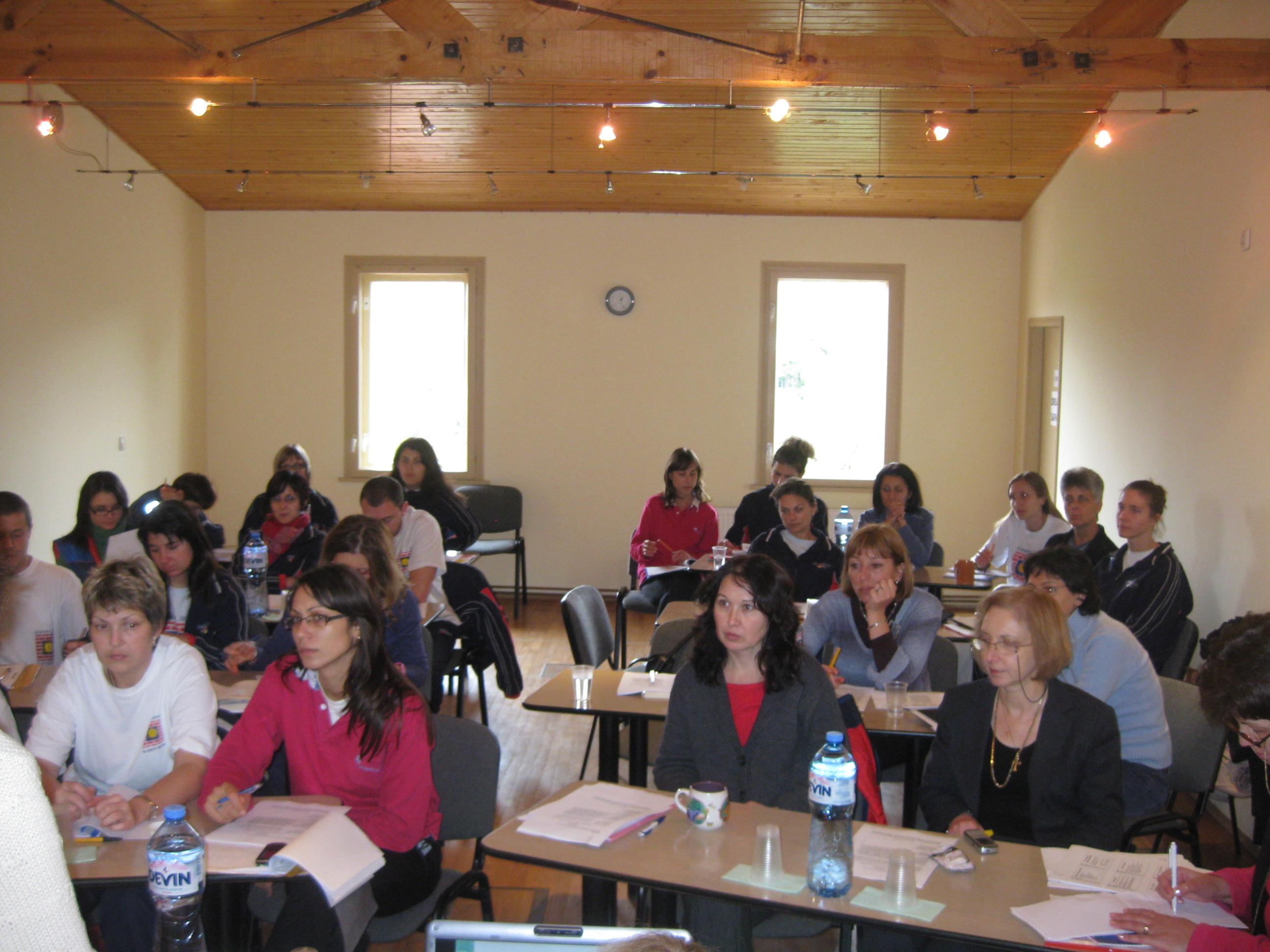 Екипа на Карин Дом на обучение за ранната интервенция