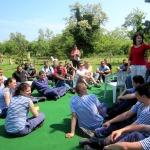 Short break and the story of tge centreКратка почивка и разказ за центъра