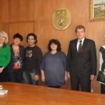 Meeting with Mr. Stanislav Blagoev - mayor of SvishtovСреща с г-н Станислав Благоев - кмета на община Свищов