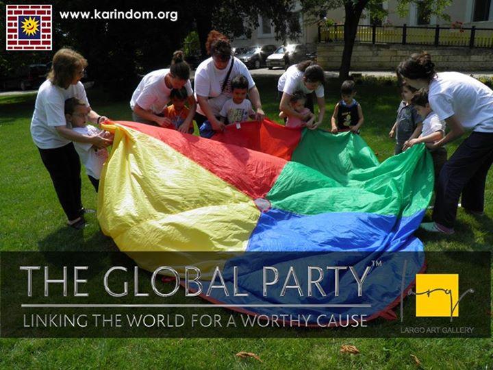 The Global Party в Арт Галерия Ларго в подкрепа на Карин дом